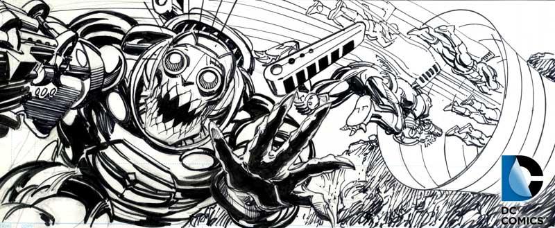 DC Comics - Neal Adams - Coming of the Supermen - Parademons