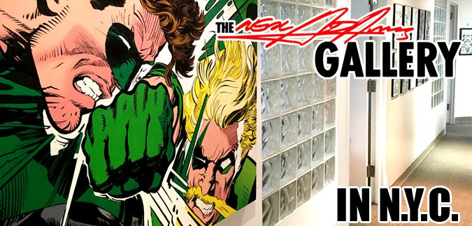 Neal Adams Gallery in Midtown Manhattan, NYC