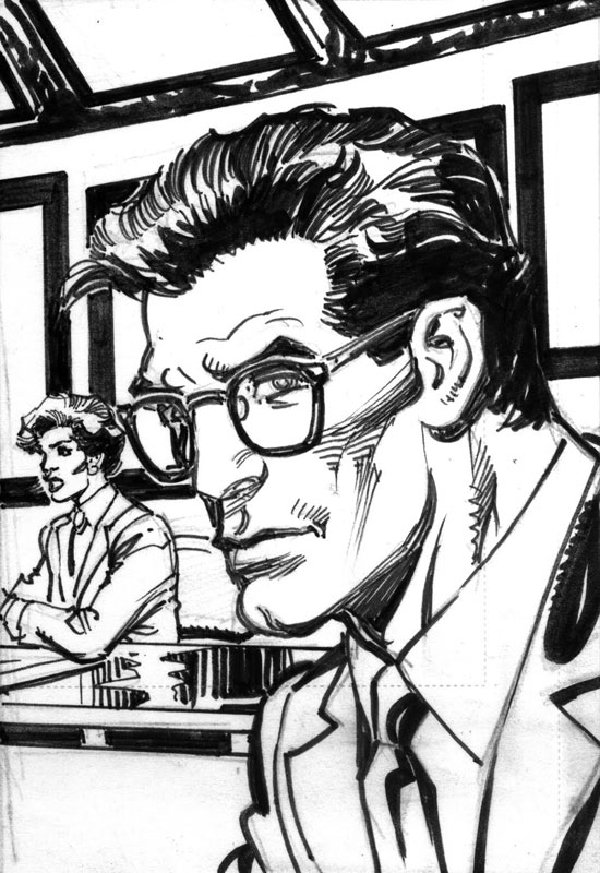 Rise of the Supermen by Neal Adams, Clark Kent