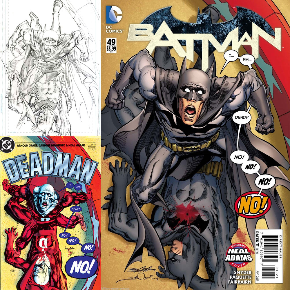 Neal Adams Month Variant Batman #49 Walt Simonson
