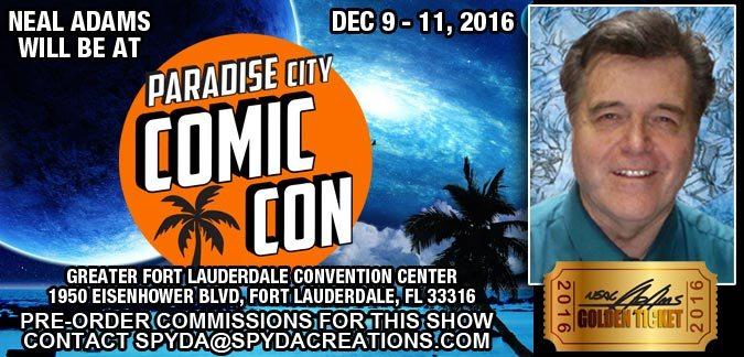 Paradise City Comic Con