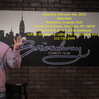 Come To My Broadway Comedy Club Stand-up Audition