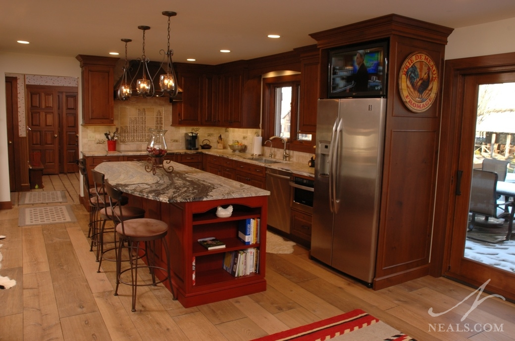 Rustic Traditional Kitchen 171 Neals Design Amp Remodel