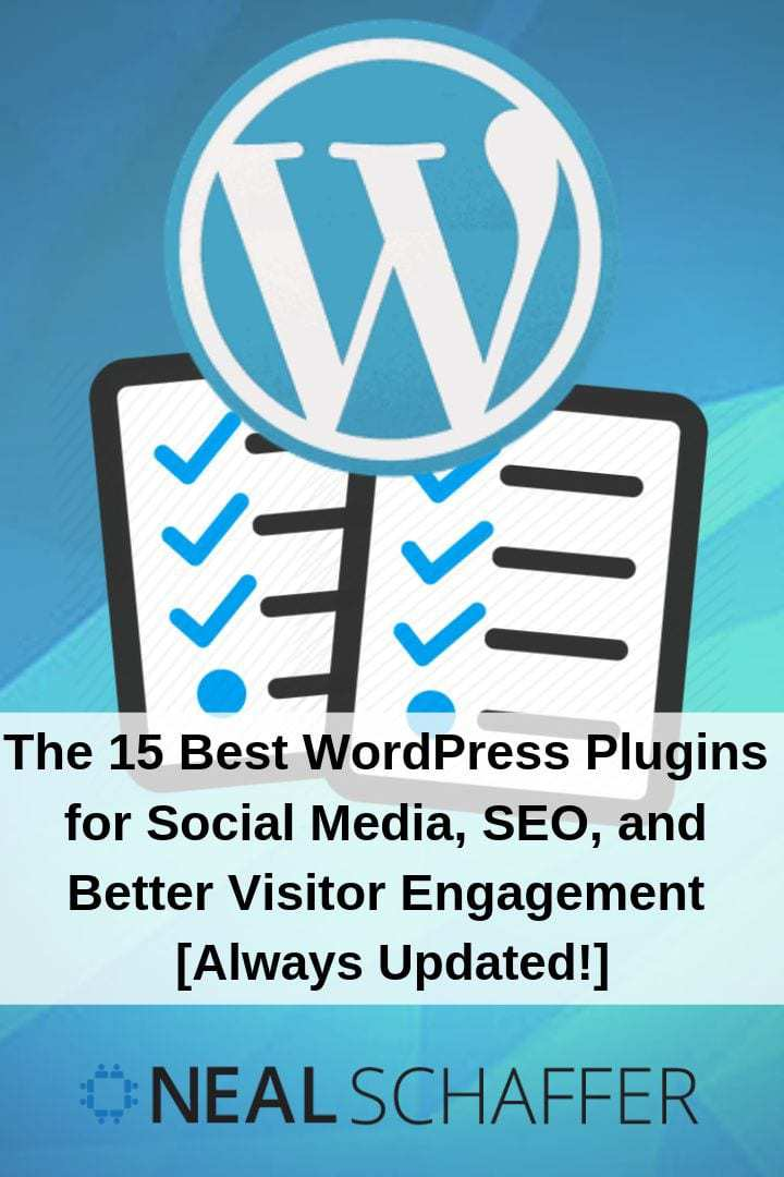 Best WordPress plugins for to help your blog content be found in social media, by search engines through better SEO, and to spark better engagement.
