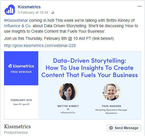 How to Promote a Webinar with Social Media