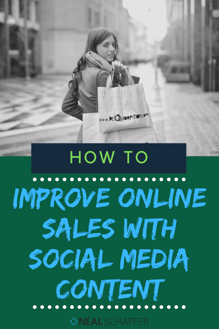 To improve online sales you don't just need conversion optimization tactics. Instead, discover how to improve online sales with social media content and streamline the buyer's journey as well.