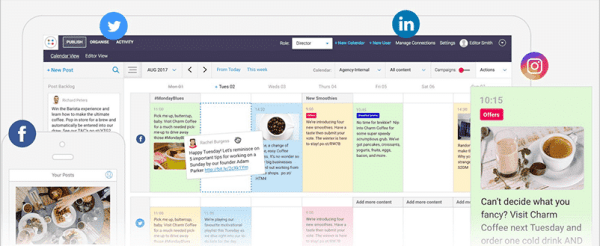 contentcal content marketing calendar screenshot