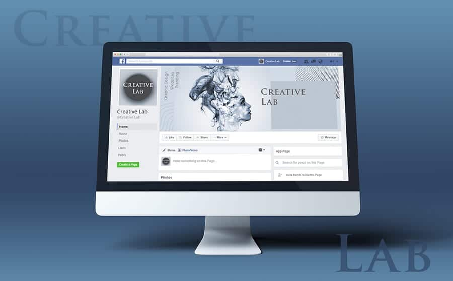 Creative Lab: Facebook Cover Template