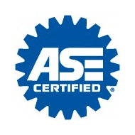 illustrated logo of ASE Certified