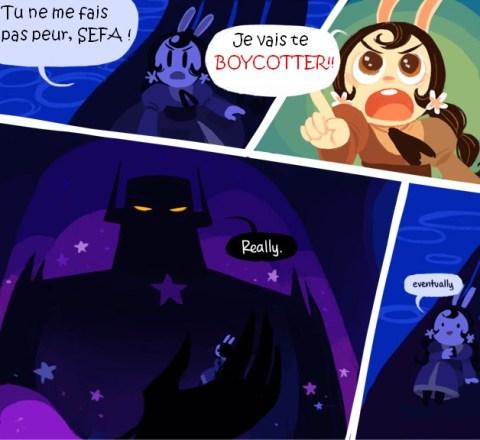 La stratégie de Thalie l'an dernier, en un webcomic. (Cucumber Quest est ma nouvelle passion secrète.)
