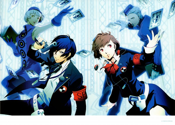 Artwork officiel de Persona 3 Portable