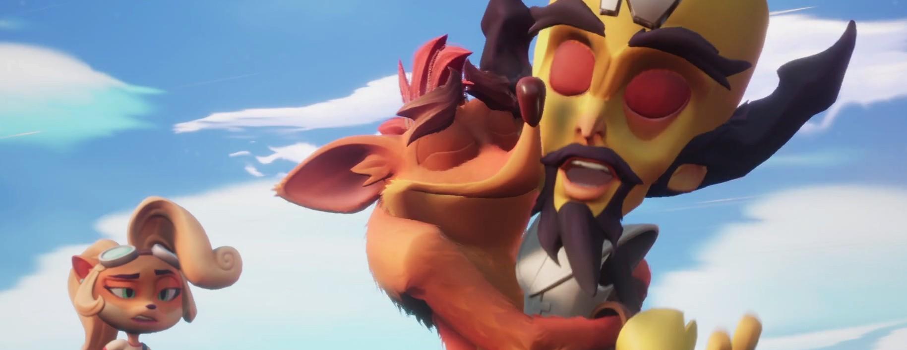 Crash Bandicoot 4 – Man in the Box