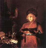 Gobin,_Michel_-_Young_Man_with_a_Candle_-_1681