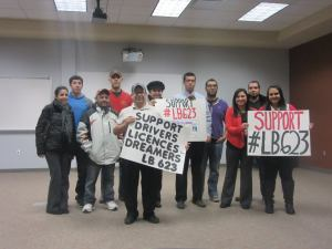 Unity In Action helped support the DREAMers driver's license bill passed by the Legislature in 2015.