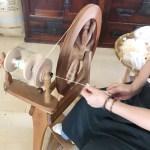 Weaving Silk in Kiryu City nearby Tokyo