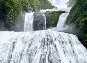 Fukuroda falls (Fukuroda no Taki) in Daigo town