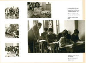 Booklet with photos of Near East Relief projects for refugees and in need communities.