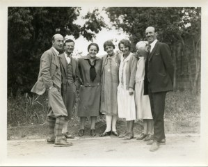 Barclay Acheson (left) with other Near East Relief workers