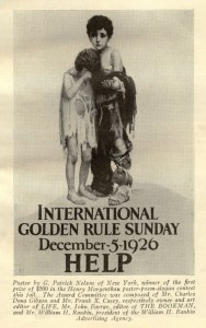 Golden Rule Sunday encouraged Americans to eat an orphanage-style meal and donate what they would have spent on a normal Sunday dinner for hunger relief.