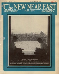 New Near East Cover, May 1925
