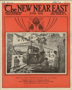 New Near East Cover, June 1925