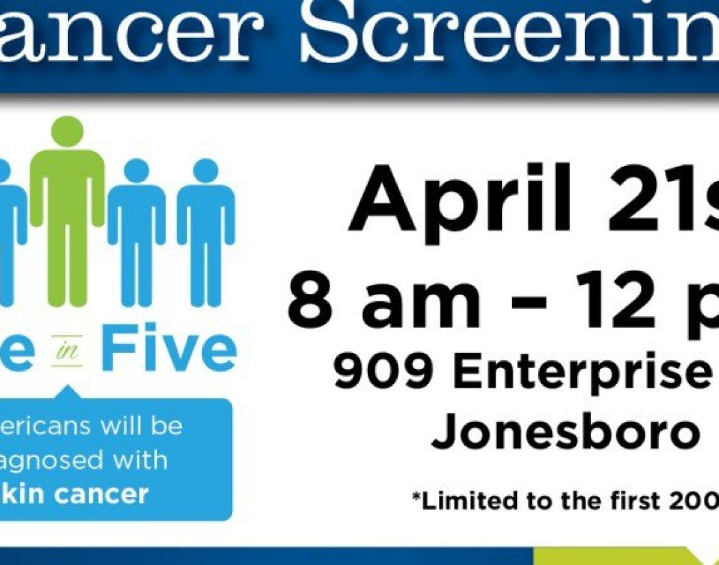 Skin Cancer Screenings 4-17 - small