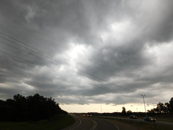 Storm clouds over Jonesboro, Ark.