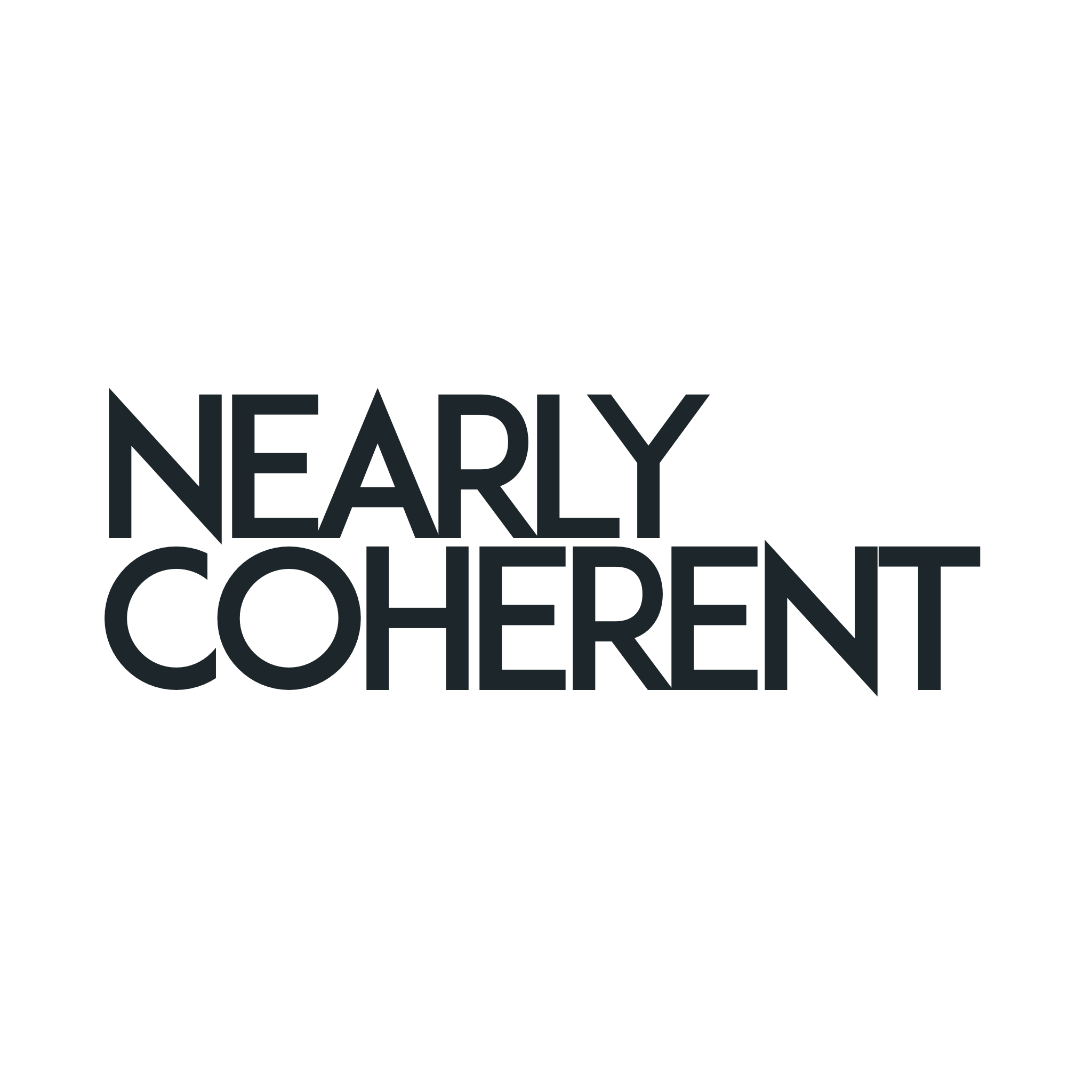 The Nearly Coherent Podcast Logo