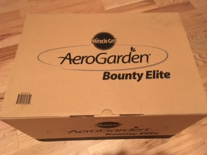 Unboxing AeroGarden Bounty Elite