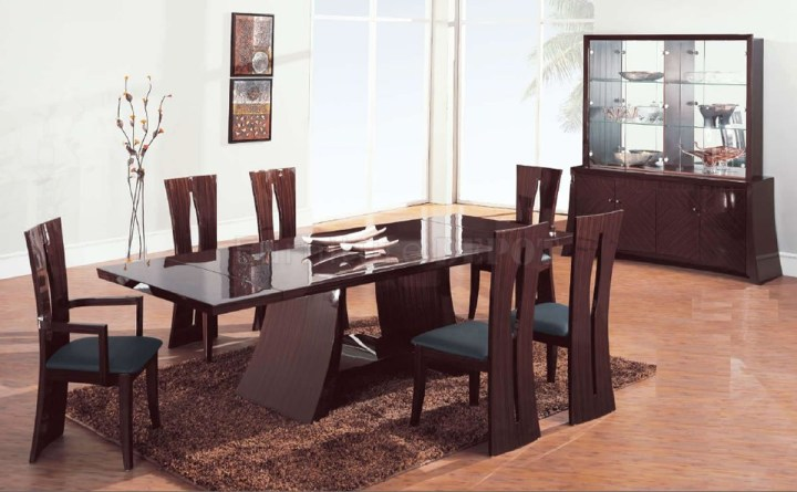 Modern Dining Table Brass