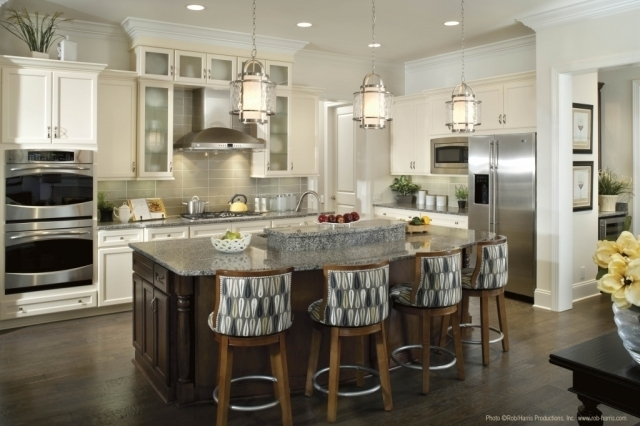 Matching Dining Room And Kitchen Lighting