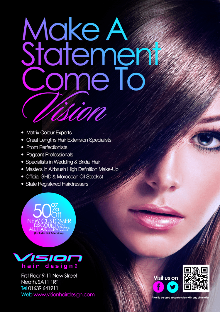 Vision Hair Design Ltd FYI Neath