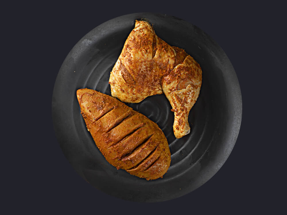 Tandoori Half Chicken (500g)