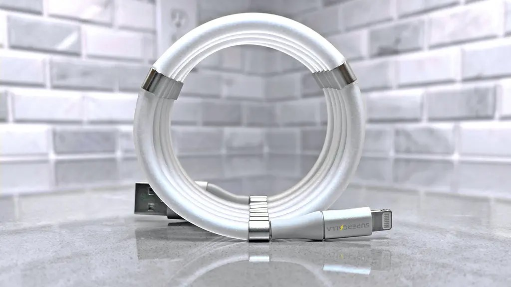 The Coiling Charging Cable