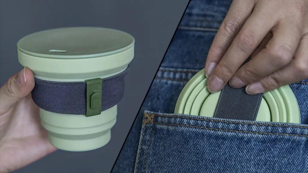 Hunu portable reusable coffee cup