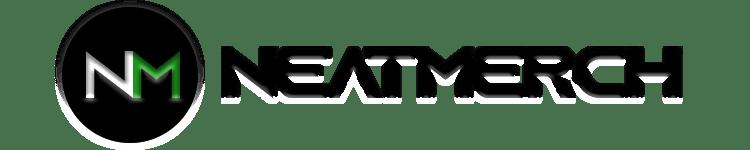 Neatmerch Logo Black Transparent Background