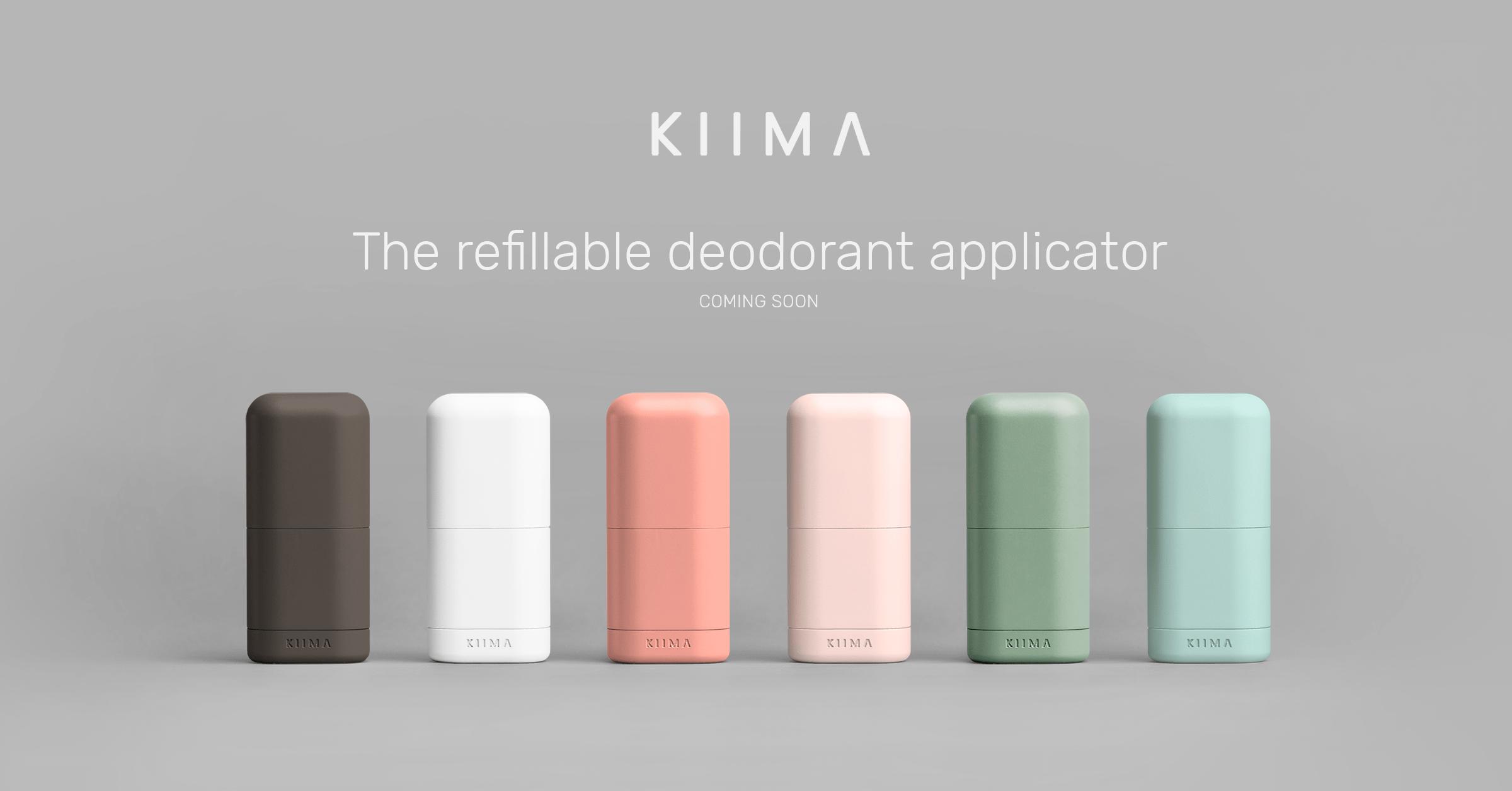 Kiima-deodorant