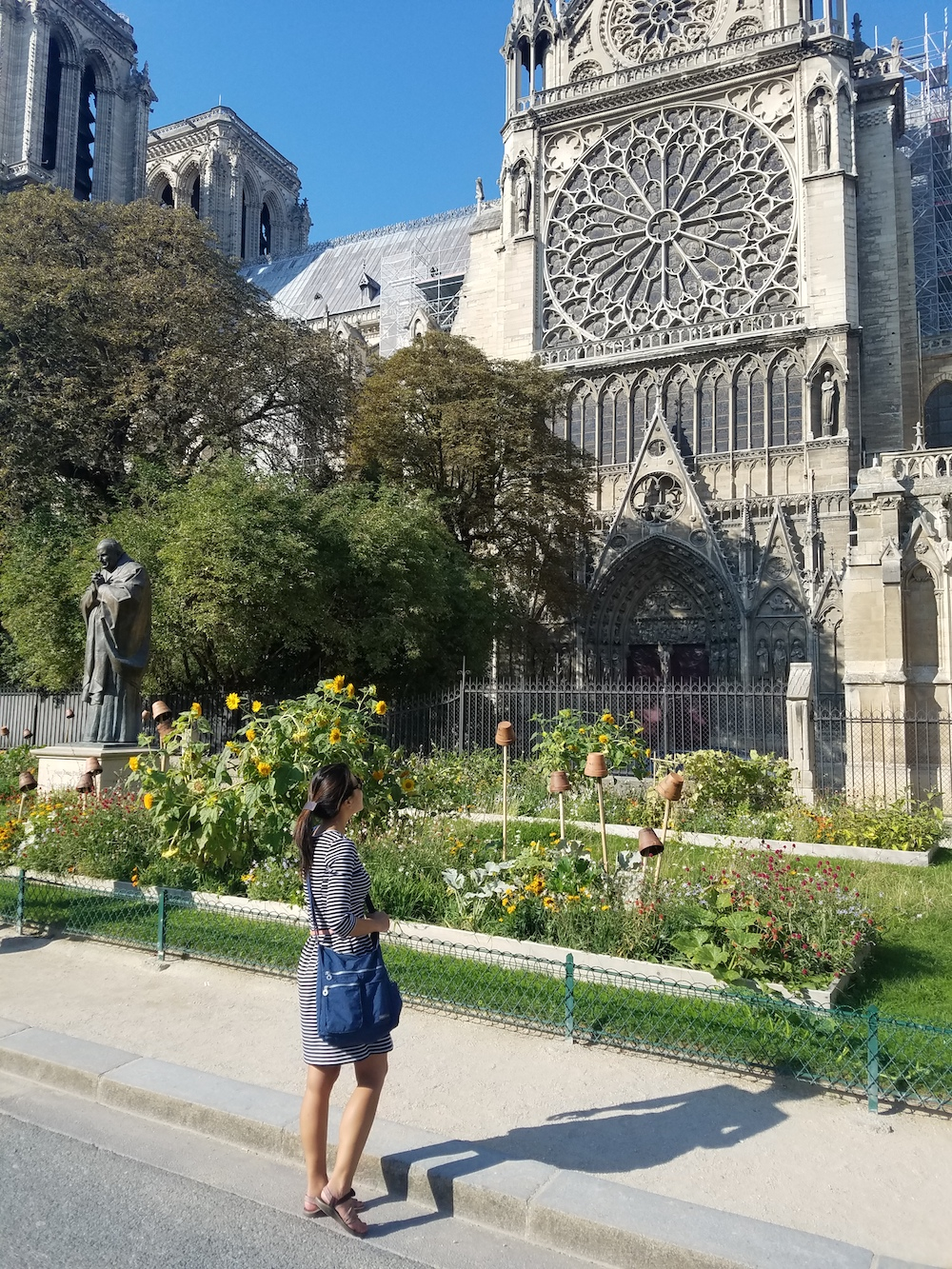 neatpack crossbody bag Notre-Dame cathedral