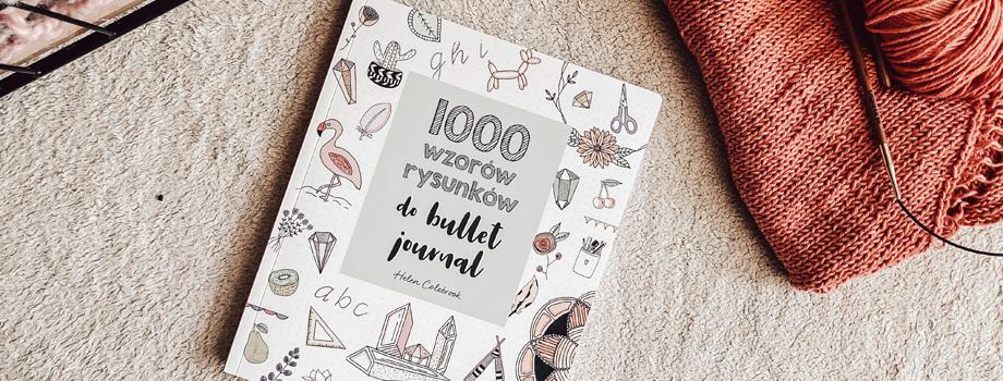 1000 wzorów rysunków do Bullet Journal – recenzja #66