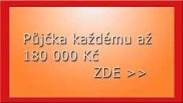 Půjčka každému až 180 000 Kč