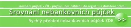 Nebankovní půjčky - srovnání  půjček v ČR