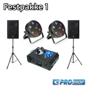 Festpakke 1   15″ top