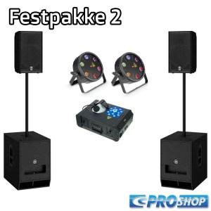 Festpakke 2   15″ top +18″ sub