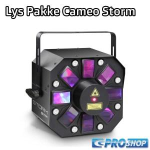 Lys Pakke (1 x Lampe) Cameo Storm