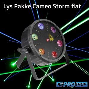 Lys pakke (1 x Lampe) Cameo Storm Flat