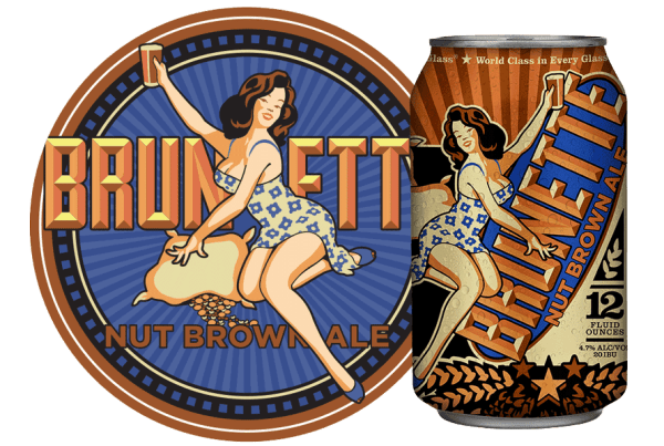 Brunette Nut Brown from Nebraska Brewing Company
