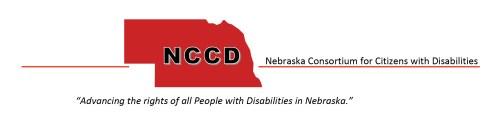 NCCD logo & tagline