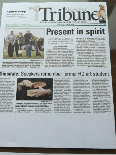 Hastings Tribune Saturday 4-25-15.