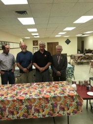 Members of Chadron Lodge explained their community free meal program to the GM