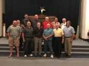 Members of Hastings Lodge 50 and Mid-West Lodge 317 treated us to great hospitality and a tour of their magnificent building.